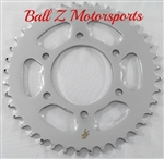 Chrome Steel 40 th tooth Rear Sprocket for RC Component Wheels