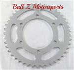 Driven Racing Yamaha YZF R6 FZ 07 & FZ 09 Chrome Steel 45 tooth Rear Sprocket