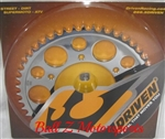 Driven Racing R1 FZ1 Chrome Steel 47 tooth 530 Rear Sprocket