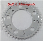 Driven Racing Chrome Steel 43 th tooth 530 Pitch Rear Sprocket