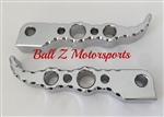 Chrome Ball Cut Hayabusa GSXR Hole Shot Rear Foot Pegs