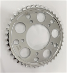 """DRIVEN"" 41 Tooth 530 Pitch Chrome Rear Sprocket"