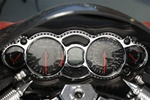 Custom T-6 Billet Aluminum Chrome Ball Cut Gauge Bezel
