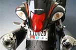 08+ Hayabusa Tag Bracket/Mount