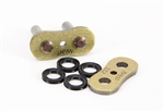 530ZZZ-MLJ/MG EK Rivet Masterlink for ZZZ 530 Pitch Gold Motorcycle Chains