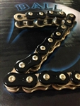 EK ThreeD (3D) Z 530 Pitch 150 Link Black/Gold Premium Motorcycle Chain