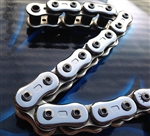 EK ThreeD (3D) Z 530 Pitch 150 Link Chrome Premium Motorcycle Chain