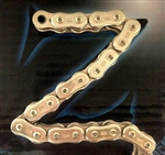 EK ThreeD (3D) Z 530 Pitch 150 Link Gold Premium Motorcycle Chain