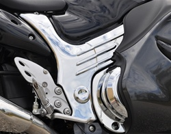 Hayabusa Chrome Kuryakyn Frame Covers