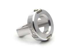 "Brock's Performance Show Polished Noise Reduction Plug 1.90"" Diameter"