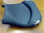 Ball Z Motorsports Hayabusa Custom Shaped Drag/Show Front Seat w/Chrome Kanji Embroidering!