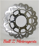 Chrome Galfer Wave Front Brake Rotors! Lowest Price! Fastest Shipping! Highest Quality!! Best Braking Power You Can Buy!! In Stock! Look At Our Huge Selection Of Chrome Parts & Accessories! Fits GSXR 600 750 1000!