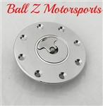 Suzuki Chrome Plated 4 Hole Quick Release Gas Cap
