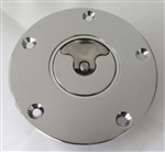 Hayabusa GSXR 600/750/1000 Chrome Plated 3 Hole Quick Release Gas Cap