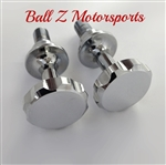 Chrome Ball Cut Smooth Frankenstein Cargo Bolts