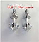 Chrome Ball Cut Bullet Spike Frankenstein Cargo Bolts