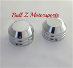 Hayabusa, GSXR 1000, TL1000R,  ZX-12, R1 Smooth Chrome 30mm Fork Caps