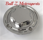 Hayabusa GSXR 600/750/1000 Custom Chrome Smooth Raised Fuel Lid/Gas Cap