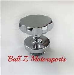 Suzuki Chrome Ball Cut Huge 3D Oil Filler Cap