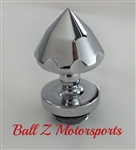 Suzuki Chrome Ball Cut HUGE Bullet Spike Oil Filler Cap