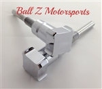 Hayabusa Custom Chrome Huge Square Bling Billet Seat Thumbscrew Bolts