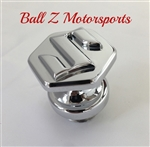 "Chrome 3D ""S"" Logo Hayabusa/GSXR Oil Filler Cap"