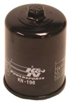K&N KN-196 Powersports High Performance Oil Filter
