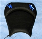 """New Image"" Custom Hayabusa Loglow Blue LED Driver Seat Exchange"