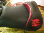 """New Image"" Custom GSXR 600/750/1000 Red Loglow Front Seat"