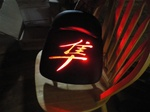 Hayabusa Loglow LED Lighted Passenger Seat Exchange