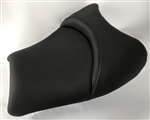 Hayabusa Custom Shaped & Covered Black Vision Front Seat