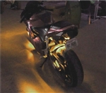 14 Piece Yellow 278 LED Complete Motorcycle Red Lighting Kit With Remote