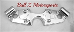 08-Up Hayabusa Ball Cut Chromed Stock/OEM Top Clamp Cover