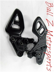 99-07 Hayabusa Black Powder Coated OEM/Stock Front Peg Brackets Outright, Exchange or Deposit