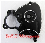 99-07 Hayabusa Black Powder Coated & Ball Cut OEM/Stock Front Sprocket Cover