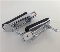 ZX-14 ZX-14R Chrome OEM Front Foot Pegs w/Feelers & Rubbers *Outright Sale*