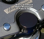 Black Anodized Billet Yoke Stem Cap