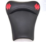 """New Image"" Black & Red GSXR 600/750/1000 Custom Shaped & Covered Front Seat"