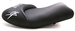 """New Image"" Hayabusa Custom Shaped & Covered Front Seat w/Chrome Embroidering"