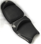 Hayabusa Front & Rear Seats w/Chrome Embroidering