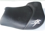 Hayabusa Custom Shaped Drag/Show Front Seat Chrome Embroidering