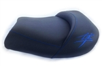 Custom Shaped Hayabusa Front Seat w/Blue Embroideringg