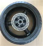 99-07 Hayabusa Stock/OEM Straight Rear Wheel, Brake Rotor & Bridgestone Tire