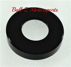 Smooth Black Anodized Tail Lock Cover