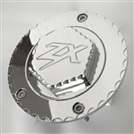 Custom Chrome ZX14 ZX10 Z1000 3D Hex Engraved Gas Cap Fuel Lid w/Ball Cut Edges