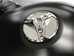 Kawasaki ZX Ninja 3 Hole Custom Chrome 3D Hole Shot Fuel Lid/Gas Cap w/Smooth Edges