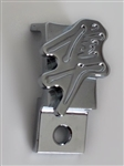 1999-2012 Hayabusa Custom Chrome 3D Pocketed Engraved Throttle Cable Guide