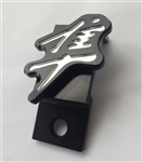 1999-2012 Hayabusa Custom 3D Black/Silver Engraved Throttle Cable Guide