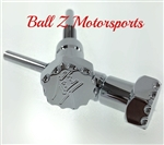 Hayabusa Custom 3D Kanji Logo Billet Chrome Seat Thumbscrew Bolts w/Ball Cut Edges & Pocketed Engravings