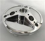 Polished Hayabusa GSXR 600/750/1000 Custom Smooth 3D Hole Shot Fuel Lid/Gas Cap